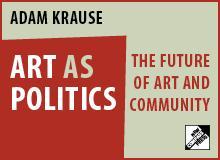 Art as Politics Banner